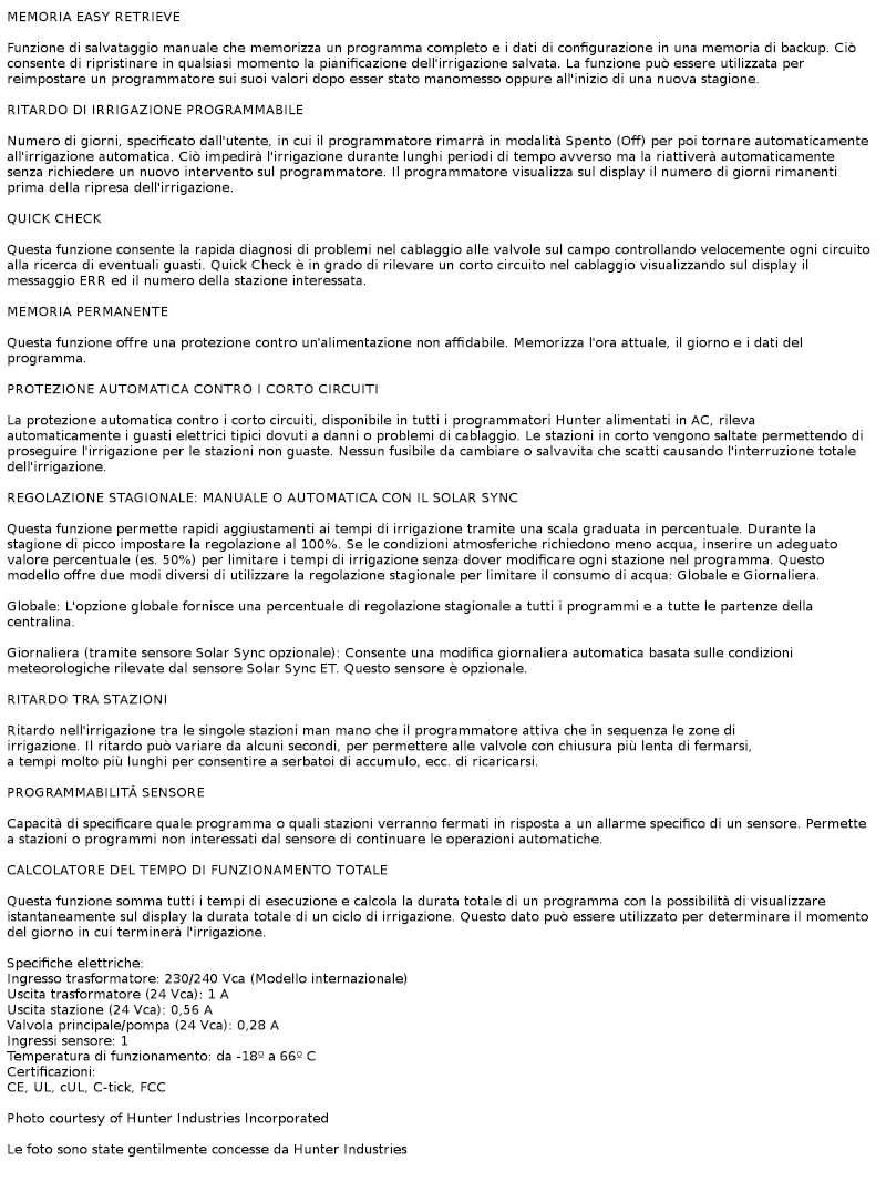caratteristiche-Programmatore- X-CORE-per-esterni-Hunter