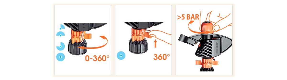 irrigatore-a-battente-a-intermittenza-impact-spike-claber-istruzioni