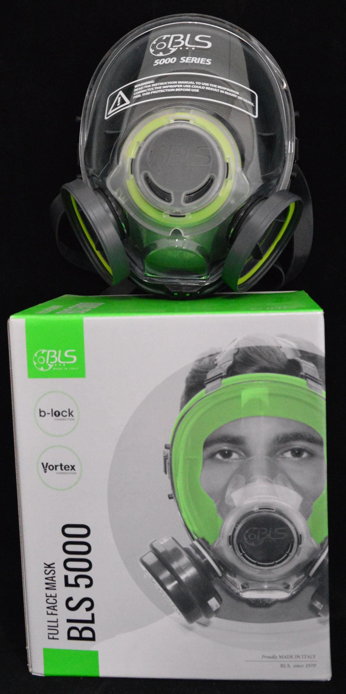 maschera facciale bls