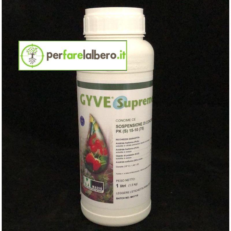 GYVE Supreme Massò Concime fogliare PK (S) 15-10 (75) 1L