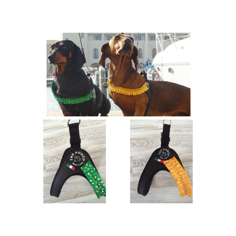 Pettorina fashion Plissè in plastica Tre Ponti