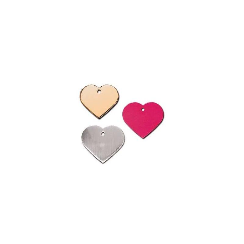 Medaglietta Trixie Cuore Large 3,8 x 3,2 cm