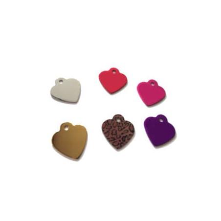 Medaglietta Trixie Cuore Small 2,5 x 2,8 cm