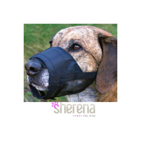 Museruola per cani in Nylon con rete TRIXIE
