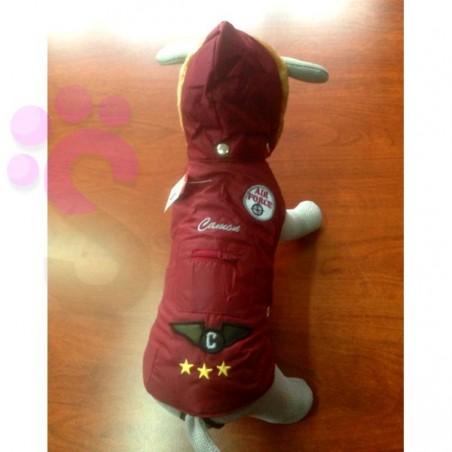 Giacca per cani Impermeabile Lio Bordeaux Camon