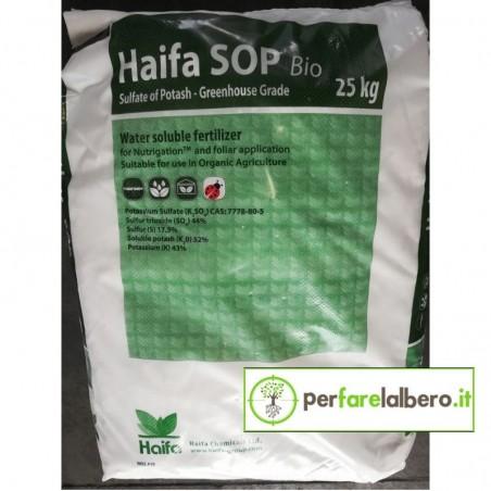 Haifa SOP Bio Concime idrosolubile Solfato di Potassio 25 kg