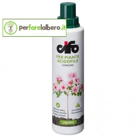 Concime Liquido Per Piante Acidofile CIFO con microelementi 500 ml