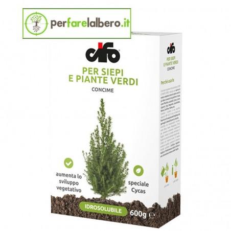 Concime Idrosolubile Per Siepi e Piante Verdi CIFO 600 g