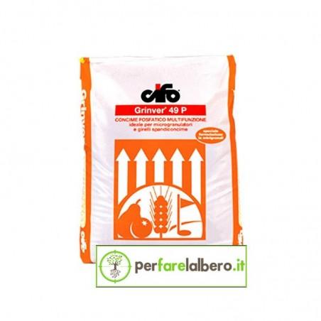 GRINVER 49 P CIFO Concime Fosfatico (con zinco) 25 kg