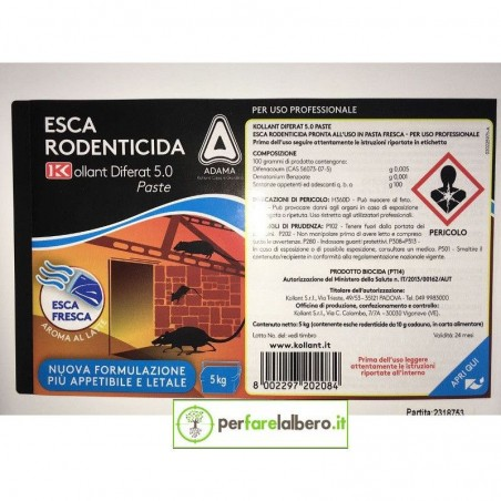 Ratibrom 2 Paste Esca Rodenticida