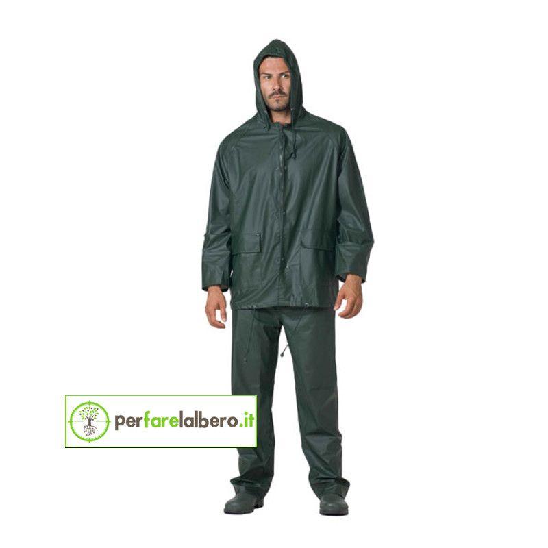 11dc98988c8e5f SMILE Logica giacca e pantalone impermeabile antipioggia traspirante