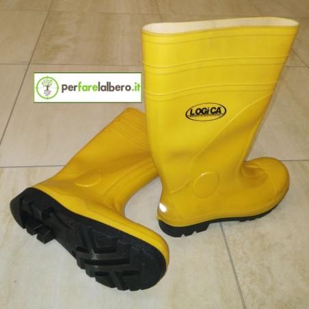 Stivali di sicurezza per cantieri Giallo S5 E025.90E