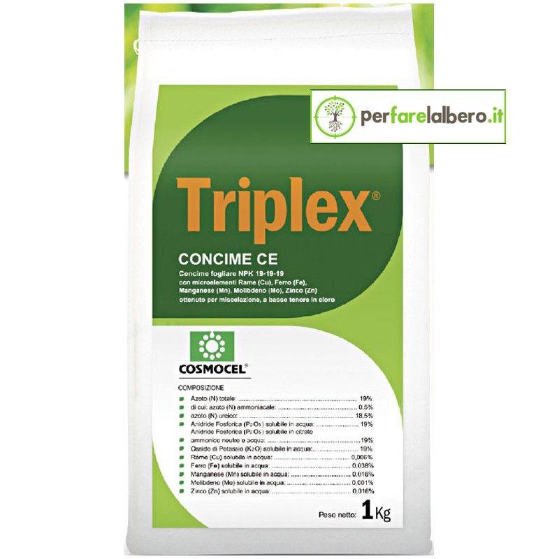 TRIPLEX Cosmocel 1 kg concime fogliare 19 19 19 con meso e micro elementi