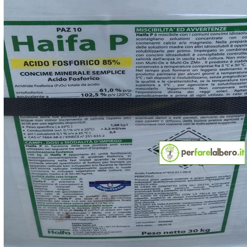 HAIFA P Concime Acido Orto fosforico 30 kg