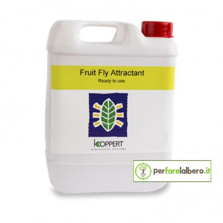 Fruit Fly Attractant KOPPERT esca moscerino della frutta Drosophila suzukii 5 L