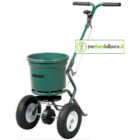 Carrello spandiconcime e spandisale 40 L Stocker 3906