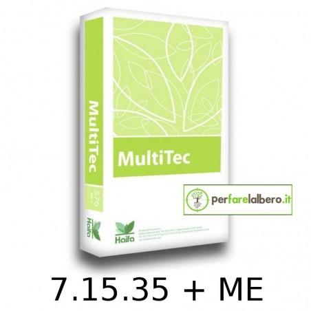 MultiTec Concime idrosolubile NPK 7.15.35 + Me HAIFA 15 kg
