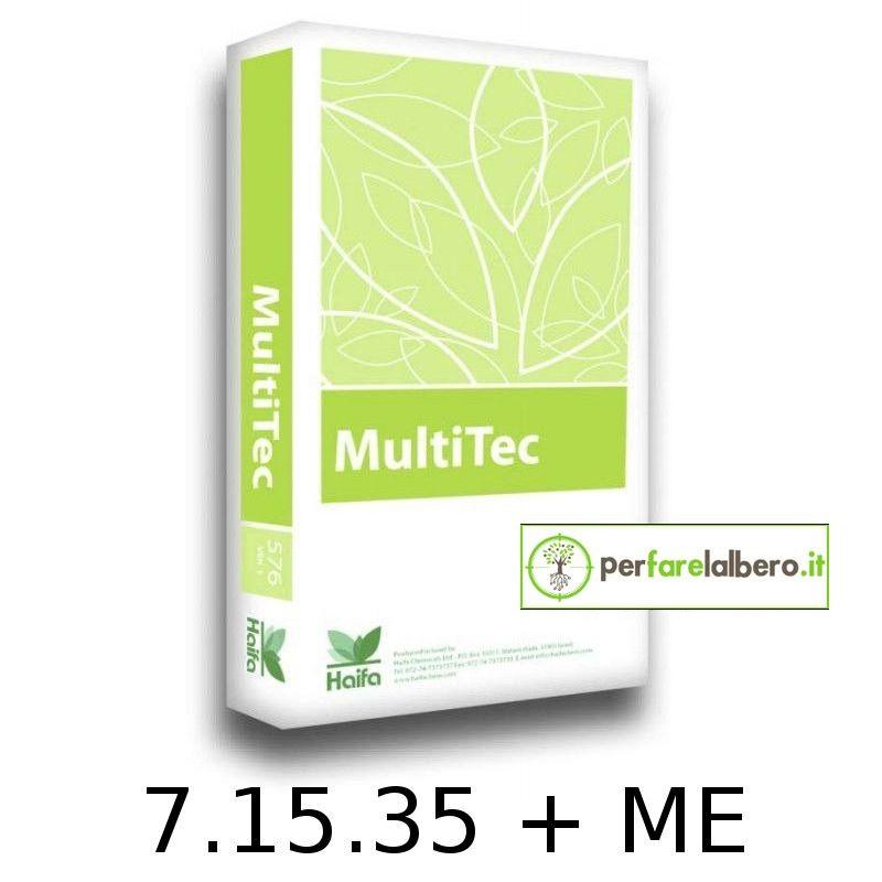 MultiTec Concime idrosolubile NPK 7.15.35+Me HAIFA 15 kg