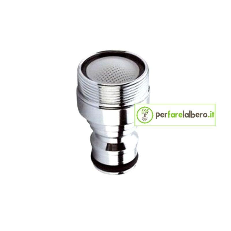 Adattatore Rapido maschio m24 con Aeratore per rubinetti