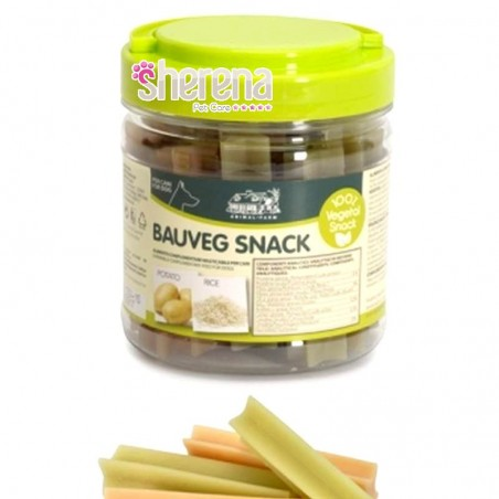 Snack vegetali per cani Bauveg mini stick vaniglia 300 gr Camon