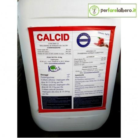 CALCID ICAS Concime Fertirrigazione Nitrato di Calcio Ca+N 30 kg