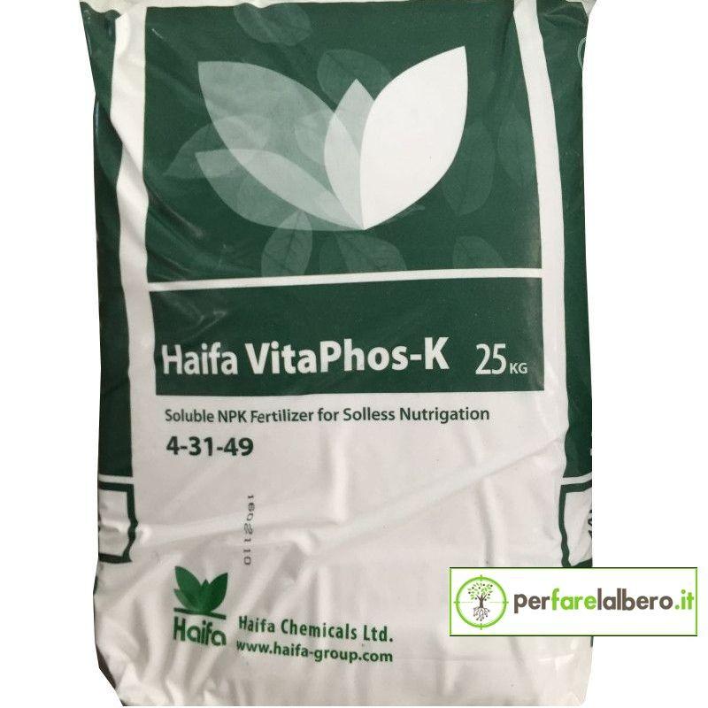 Haifa VitaPhos-K Concime idrosolubile NPK Polifosfato di Potassio
