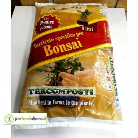 Terriccio specifico per bonsai 8L TERCOMPOSTI