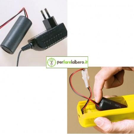 Batteria al Litio Ricaricabile con Caricabatteria per Micronizzatore VOLPI Jolly