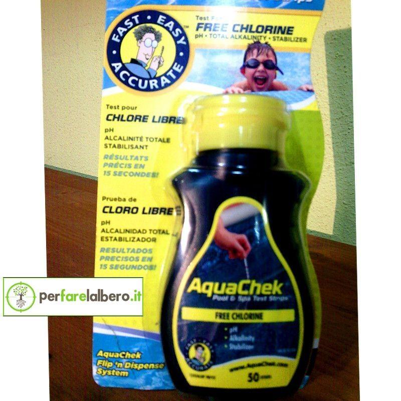 Aquachek 50 strisce per analisi piscine