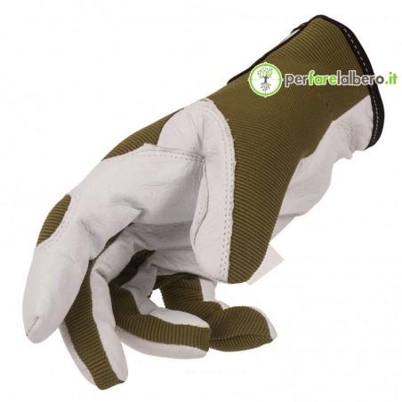 GuantI da lavoro oliva STOCKER Cotone Pelle