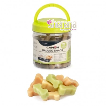 Snack vegetali per cani Bauveg mini stick Camon