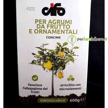 Concime idrosolubile per agrumi da frutto e ornamentali CIFO 600 g