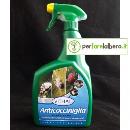 Anticocciniglia Vithal 800 ml Insetticida pronto all'uso