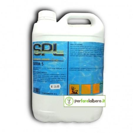 GERM 5 Germicida liquido disinfettante per piscina 5 L