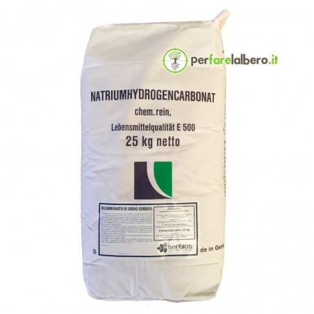 Bicarbonato di sodio Serbios migliora la resistenza delle piante 25 kg