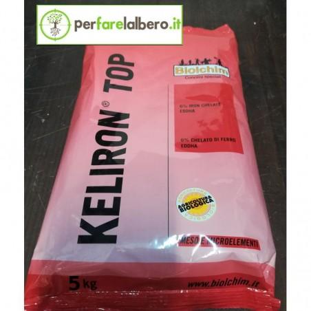 KELIRON TOP Biolchim 6% chelato di ferro EDDHA (4,8% orto–orto) - 5 kg