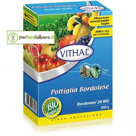 Vithal Bordoram 20 WG poltiglia-bordolese fungicida rameico Rame metallo - 200 g