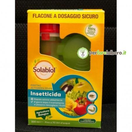 Piretro Actigreen Insetticida Biologico a base di Piretrine - 100 ml