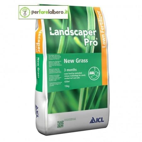 Landscaper Pro New Grass 16-24-12 concime per prato - 15 kg