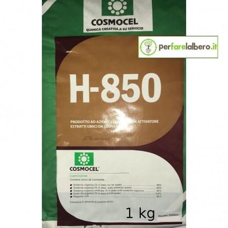 H-850 Cosmocel concime in polvere idrosolubile estratti umici da leonardite - 1 kg
