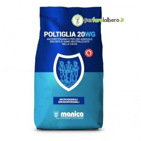 Manica Poltiglia 20WG fungicida rameico rame metallo pfnpe 500 g