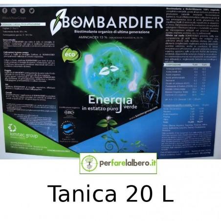 Bombardier Concime idrosolubile Biostimolante organico completamente vegetale - Tanica da 20 L