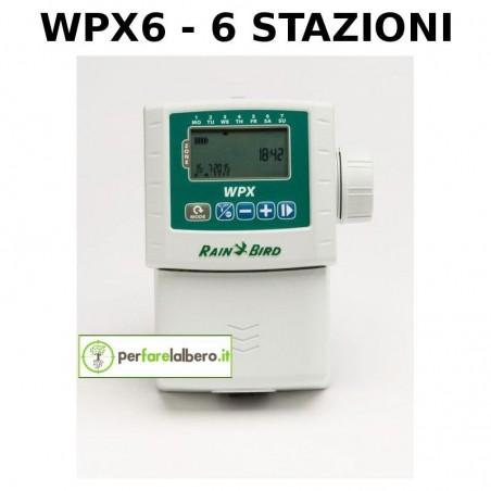 Programmatori a batteria WPX RAIN BIRD - MODELLO WPX6 - 6 STAZIONI