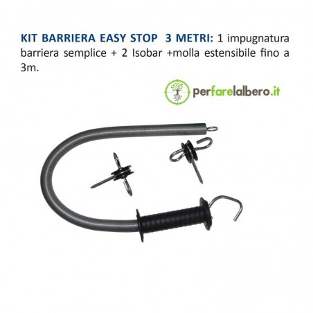 Kit barriera cancello con molla 3 metri Lacme Easy stop