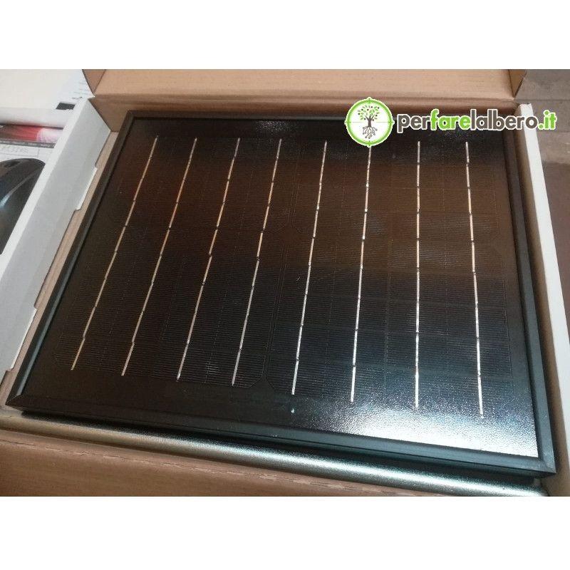 Pannello Solare Lacme 10 W per Elettrificatore Secur