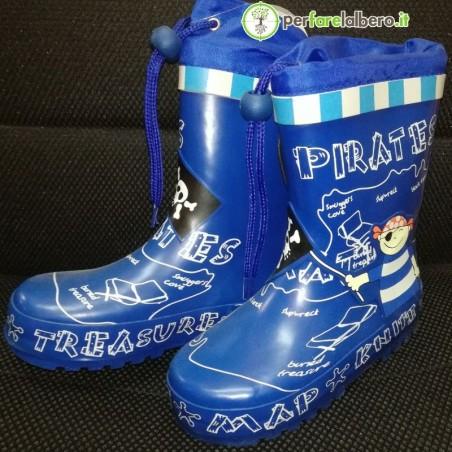 Stivali Pirata per Bambini in gomma Stocker Blu 1227