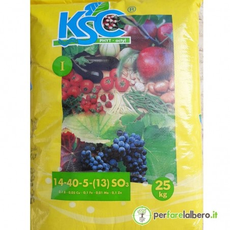 KSC I Timac Agro 14 40 5 concime idrosolubile NPK (SO3) 25 kg