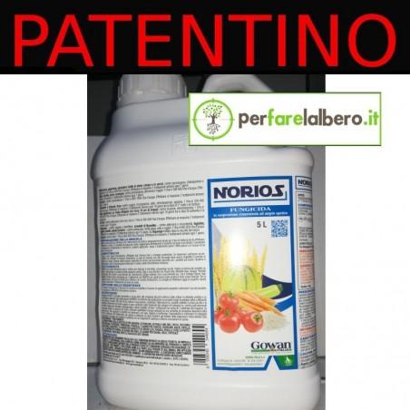 NORIOS Gowan Fungicida colture orticole riso Azossistrobina 1 L - Tanica da 5 L