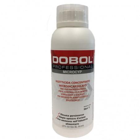 Dobol Microcyp Insetticida blatte zecche pulci tarme di tessuti acari della polvere ecc..