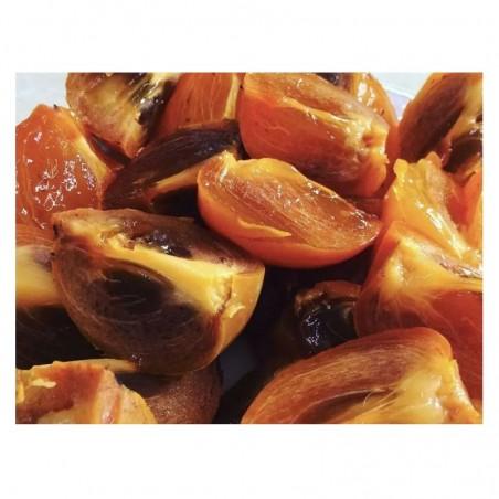 Pianta di loti (cachi o kaki) cioccolatino
